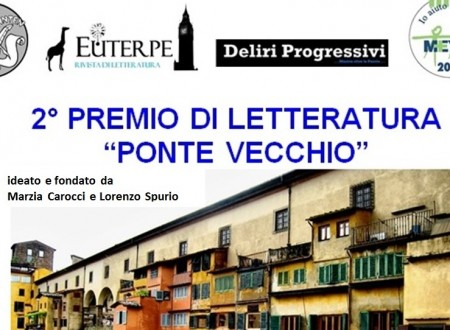 """La seconda edizione del Premio di Letteratura """"Ponte Vecchio"""""""