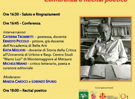 A Firenze si è parlato di Mario Luzi come uomo