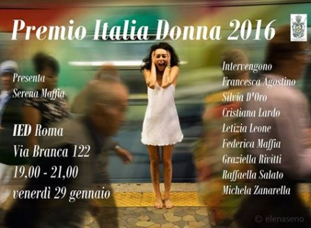 Premio Italia Donna 2016