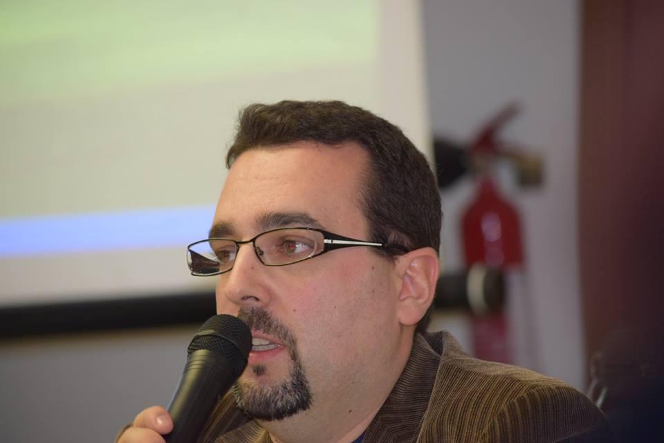 Lorenzo Spurio, curatore della antologia