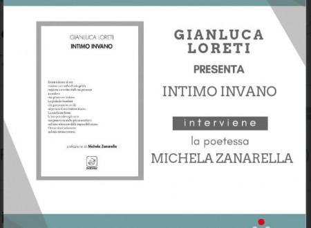 """""""Intimo Invano"""": la presentazione del libro di Gianluca Loreti alla Libreria Teatro Tlon"""
