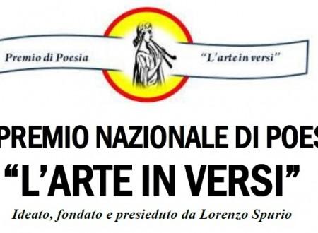 """VIII Premio Nazionale di Poesia """"L'arte in versi"""" – diffuso il bando di partecipazione"""