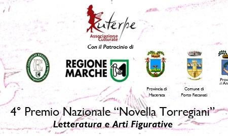 """4°Premio Nazionale """"Novella Torregiani"""" per poesia, racconti, haiku, quadri e fotografie. Scadenza 31-12-2019"""